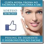 Concorra a uma sessão de peeling de diamante e hidronutriçaõ facial