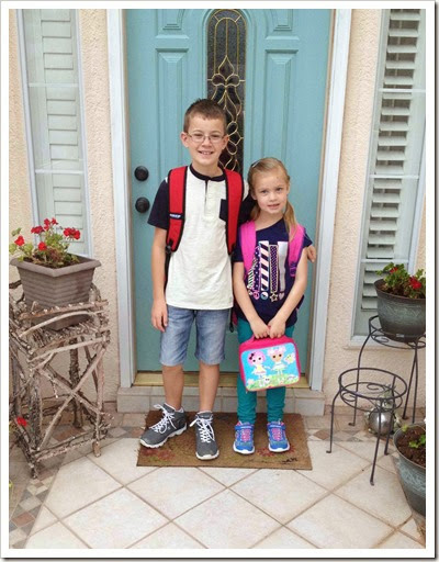 Back to school with the kiddos