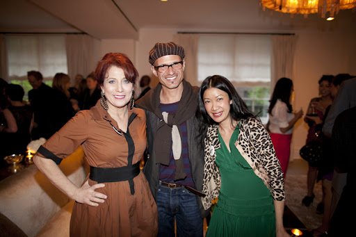 Marcy Blum, David Stark, and Kate Berry