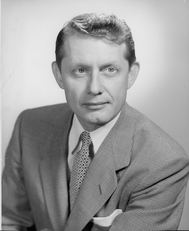 Portrait of Hal Call. 1953.