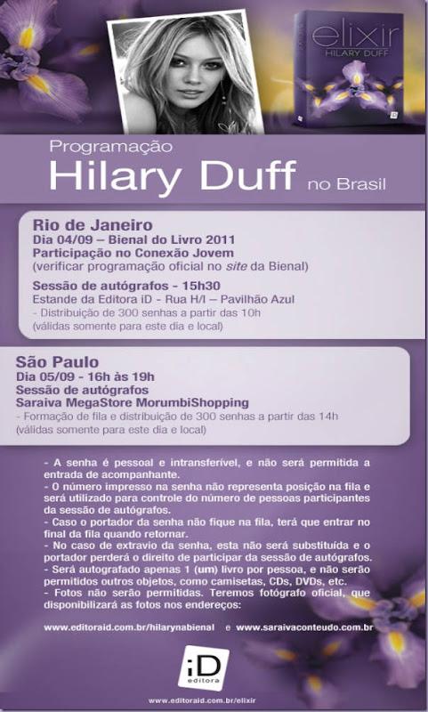 Hilary-Duff-Tarde-Autógrafos-Elixir-Brasil
