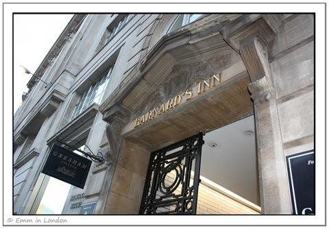 Gresham College Barnards Inn