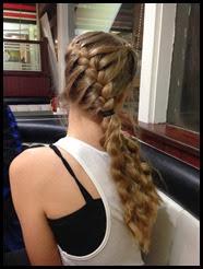 Madi's hair
