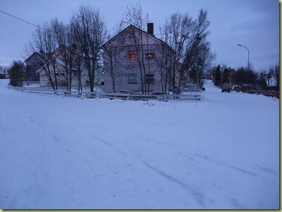 Kirkenes House and Snow