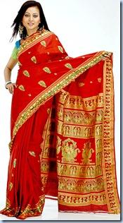 Sari draping style