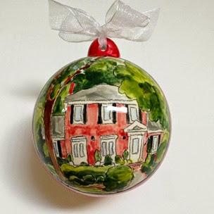 home portrait ornament