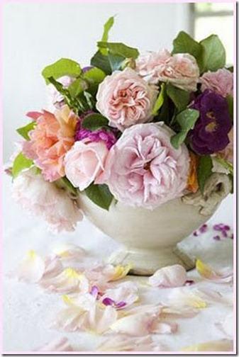 spring garden roses via pinterest