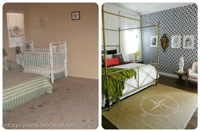 Bedroom Makeovers Before And After before and afters - vintage revivals