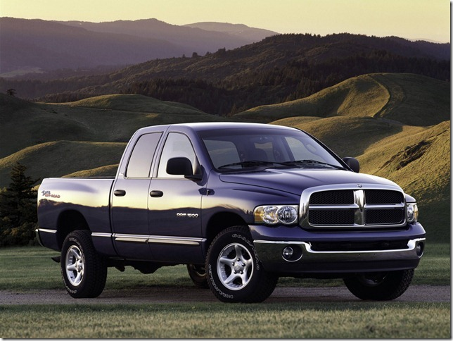 2004 Dodge Ram 1500 Off-Road 4x4 Quad Cab