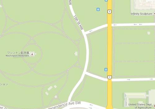 Google map shadow detail