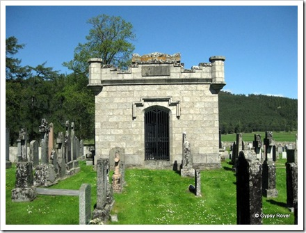 Mausoleum in the Braemar Kirkyard.