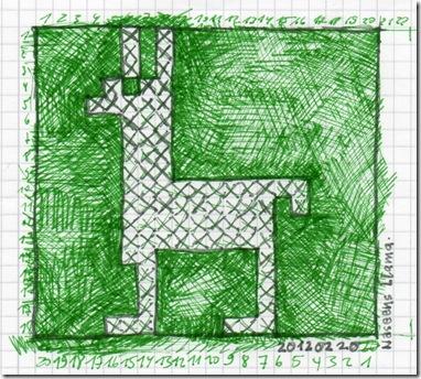 20120221 Llama Muster001