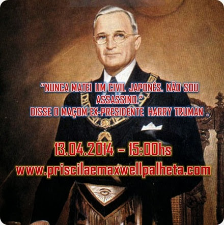 Harry S. Truman - Priscila e Maxwell Palheta