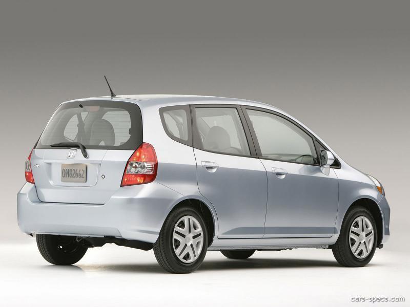 2007 honda fit hatchback specifications pictures prices. Black Bedroom Furniture Sets. Home Design Ideas