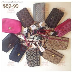 MoltoChic Coach Wristlet Sale Free Eco Tote Giveaway Singapore Jualan Gudang EverydayOnSales Offers Buy Sell Shopping