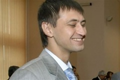 Роман Ландик рад и весел