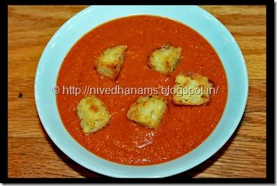 Creamless Cream of Tomato Soup - IMG_9406