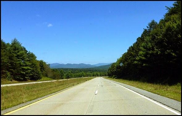 06 - Rt 515-Rt76 into Blairsville, Georgia Mountains