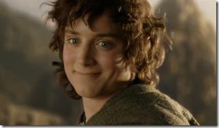 Frodo Smiling