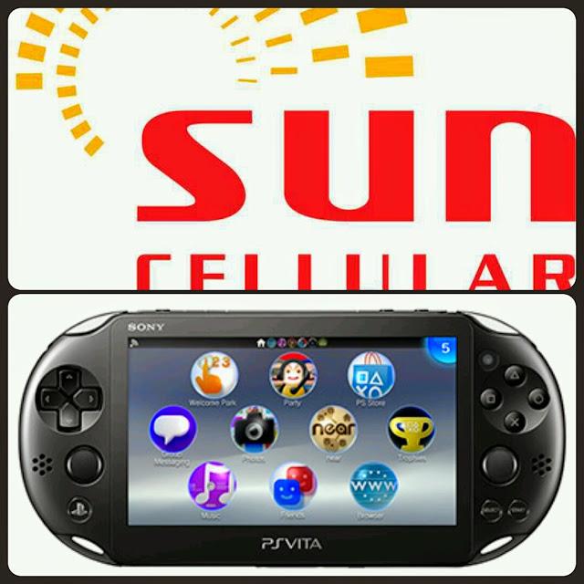 PS Vita Sun Broadband Gadget