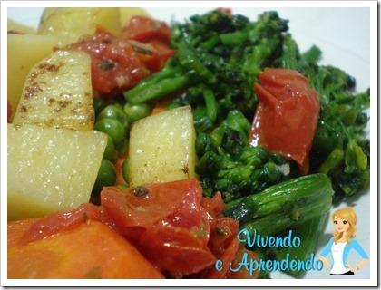 Salada de legumes com tomate seco1