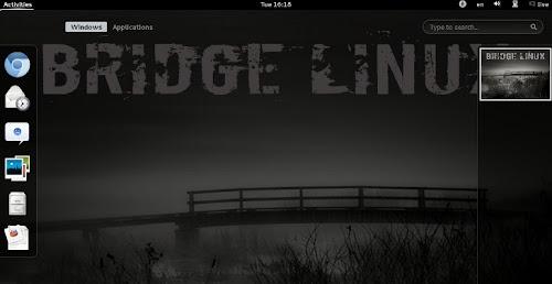 Bridge Linux GNOME 2012.8