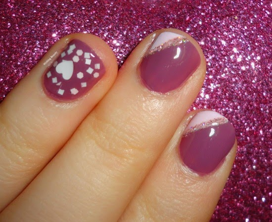Valentine s Day Nails Zoya Odette Julep Nell Julep Yuki Madam Glam Flirty Mood 2