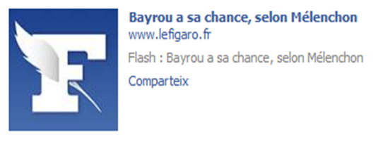 Mélenchon Bayrou