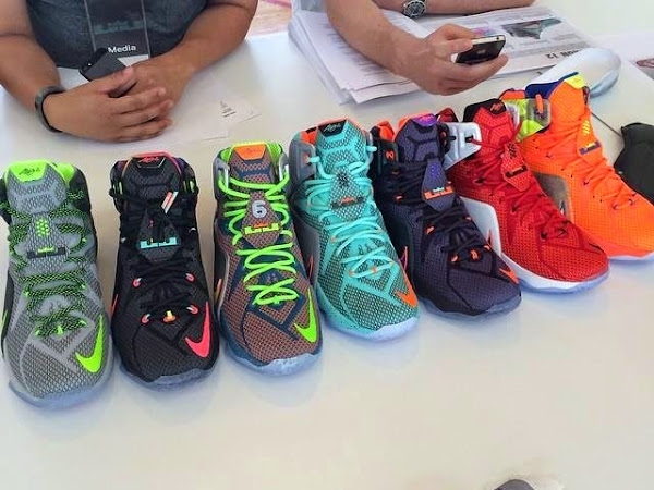 Nike LeBron XII is Much Heavier Than it Actually Looks Like