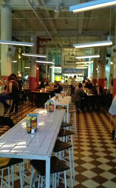 Cafe El Presidente Mexican restaurant dining room