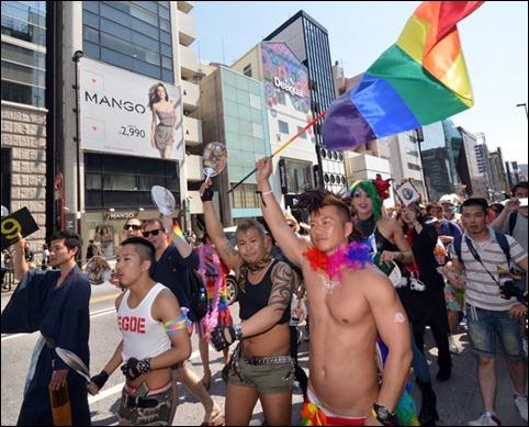 Parada Gay Toquio 2013 04