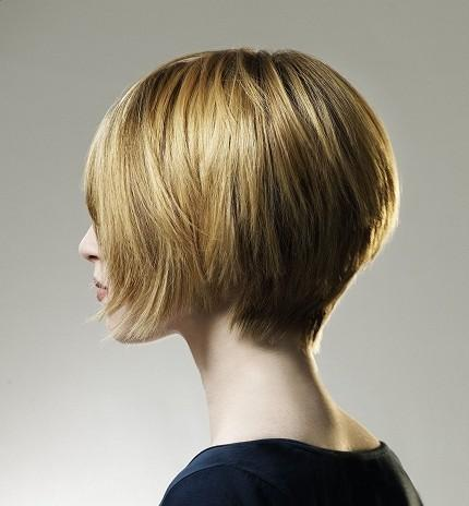 Chin Length Curly Bob Hairstyle