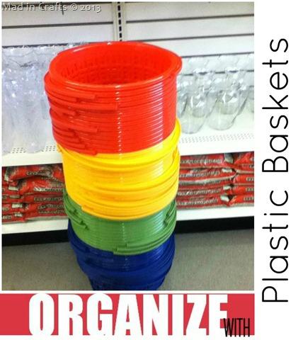 Dollar Store Plastic Bucket