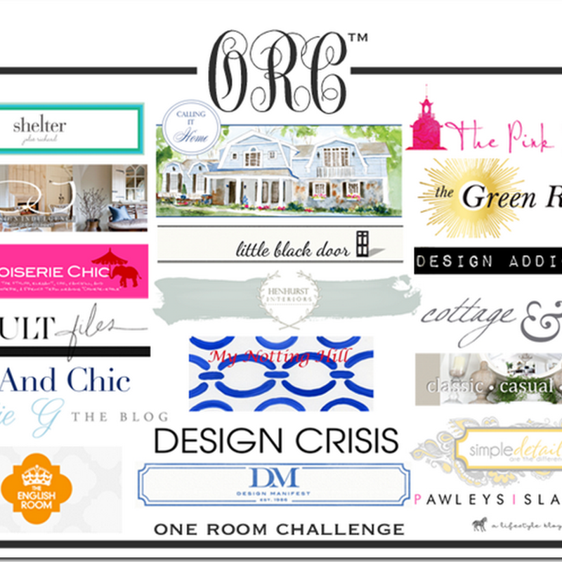 One Room Challenge: Week 5; The Styling Loot