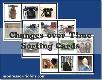 changes over time sorting