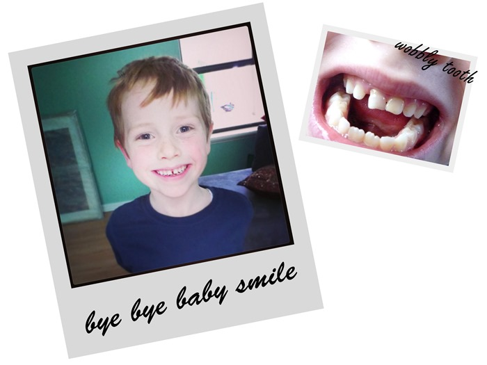bye bye baby tooth