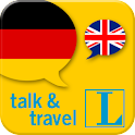 German talk&travel icon