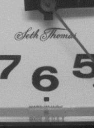 "Seth Thomas Minicube alarm clock ""MADE IN U.S.A."""