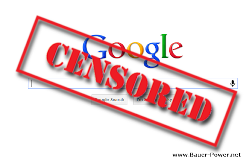 Google Facebook Blackout