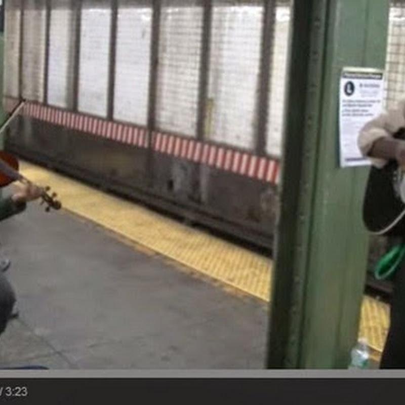 Wrecking Ball στο μετρό