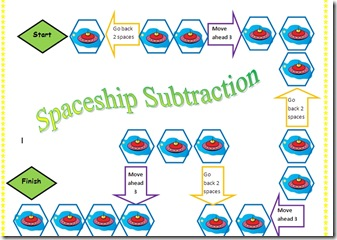 spaceship subtraction screen shot