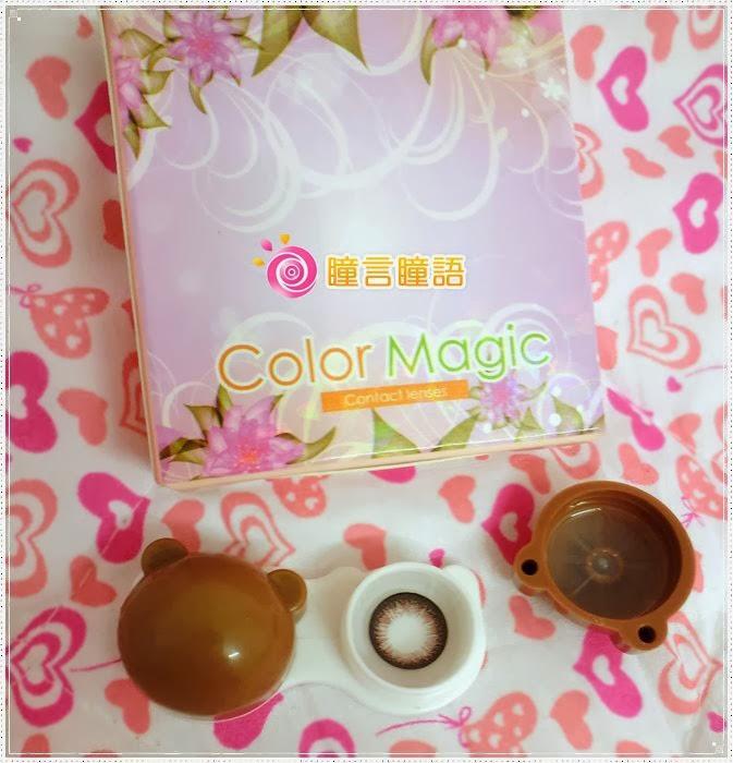 日本KRIAKRIA隱形眼鏡-Sweety Eye 糖果巧克力3