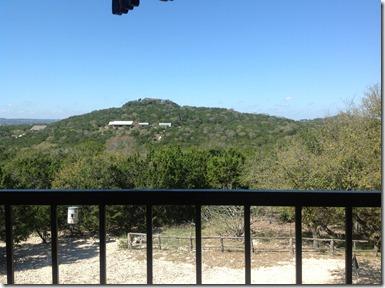 Michaels porch view'