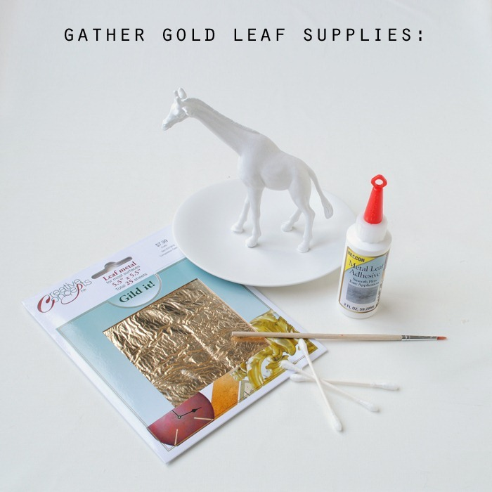 gather gold leaf supplies