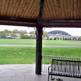 View of the course from the Gazebo.