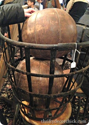 vintage medicine balls