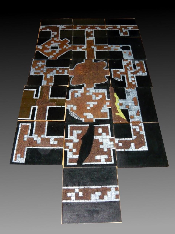 Podziemia 2D - cały stół (drugie zdjęcie)