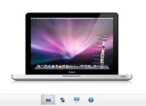 Galería de imágenes estilo Apple con CSS y jQuery