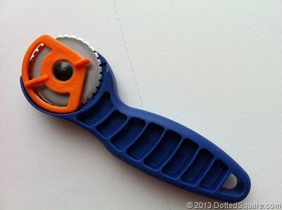 Deckled blade