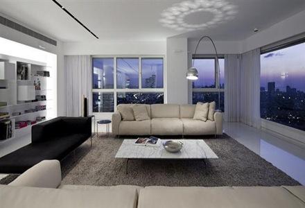 Apartamento De Lujo En Tel Aviv Minimalista Y